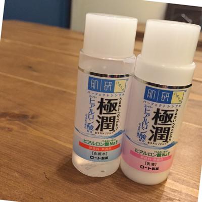 肌ラボ極潤化粧水&乳液