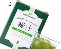 ユーグレナ緑汁のパッケージ