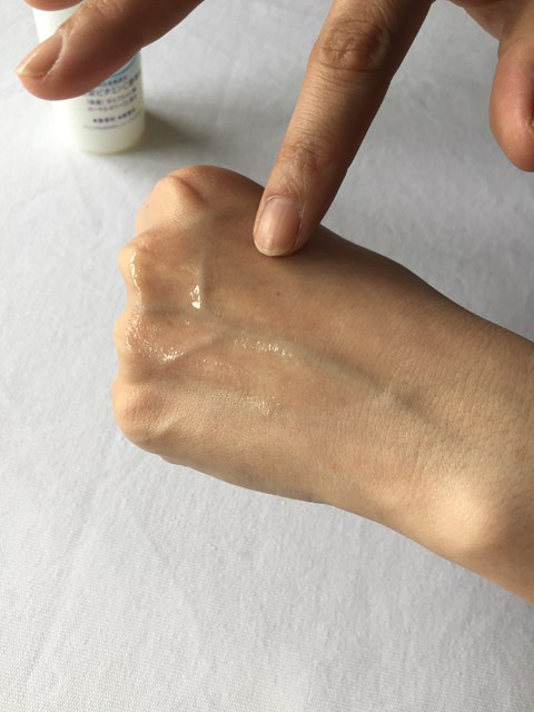 資生堂の化粧水専科シリーズ、美容液からつくった化粧水-しっとり、美白手のひらにすっとなじむ