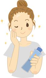 自分に合った化粧水・ローションを選ぶように努力する