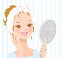 化粧の基礎となる良好な肌を目指すのが化粧水
